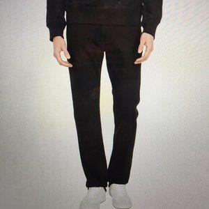 7 For All Mankind Men's Black Jeans Standard Sz 33